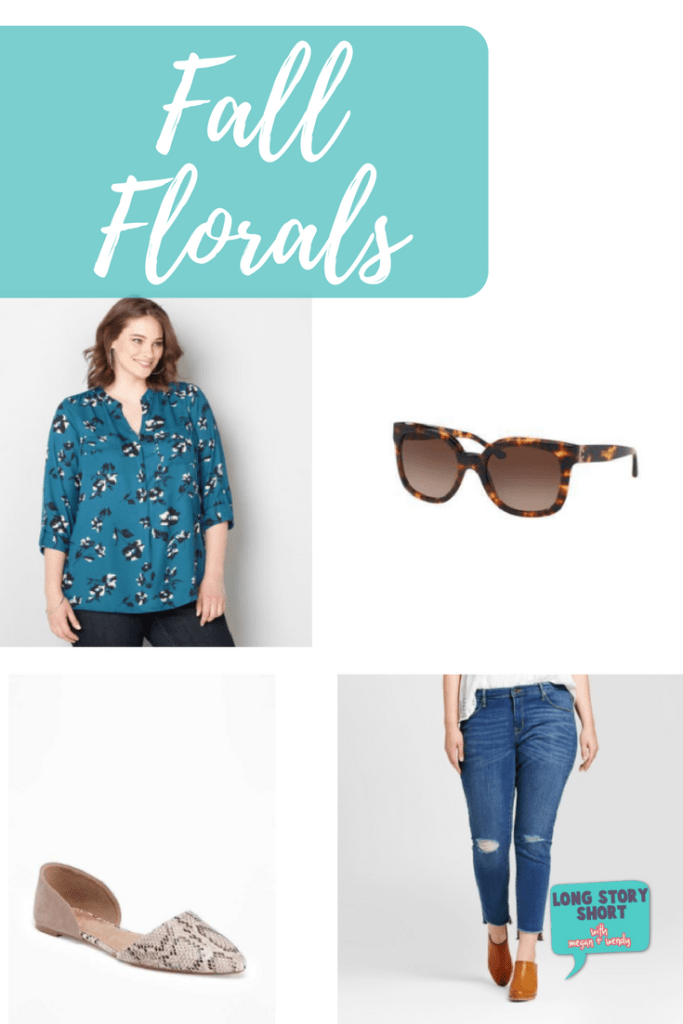 Fall Florals - Floral patterns are a staple in spring and summer, but we love them for Fall, too