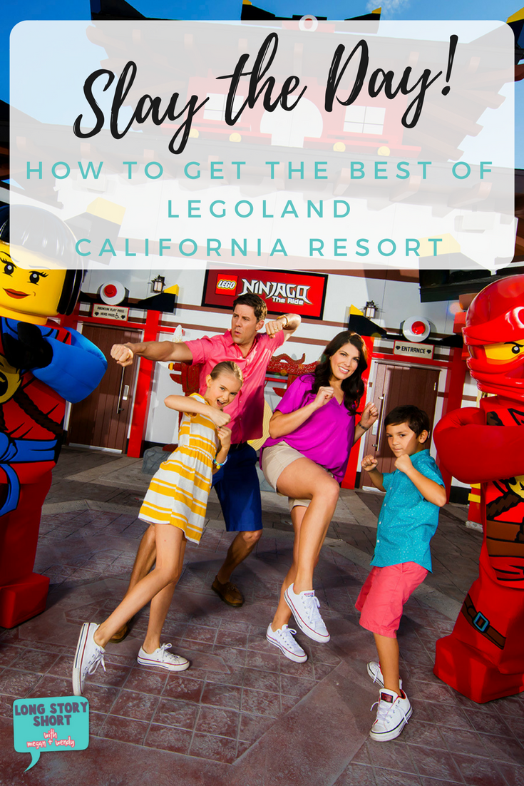 Slay the day or the day will slay you! Advice on how to get the best of traveling with kids to Legoland.