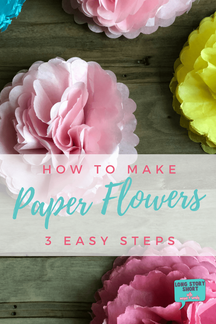 Easy paper flower tutorial long story short looking for the easiest paper flower tutorial skip the others on pinterest and see how mightylinksfo