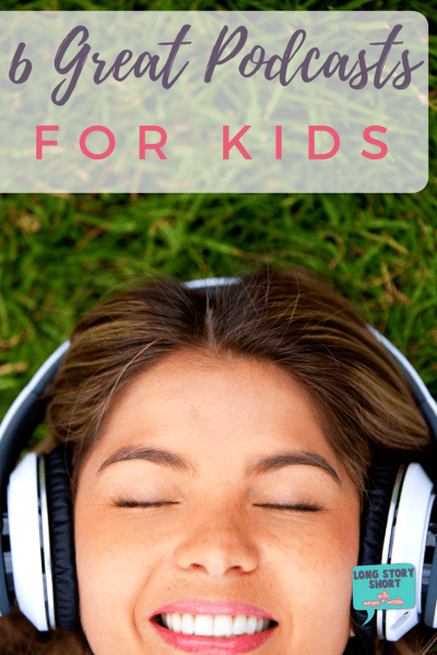 Six Great Podcast for Kids to listen to this summer!