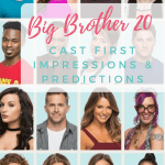 Big Brother 20 First Impressions and Predictions
