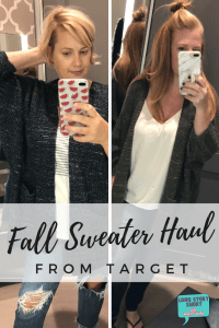 Favorite Fall Sweaters from Target