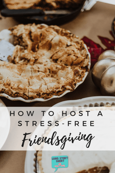 How to Host a Stress Free Friendsgiving - Use these tips for hosting a friendsgiving full of new recipes, traditions, dessert and of course - friends! Make this Thanksgiving the best ever by inviting your favorite people over to share a meal. Use our printables to make your table setting just right. Thanksgiving | Friendsgiving | Hosting | Decor | DIY | Printables | Tablescape | Potluck | Invite | Place Cards #thanksgiving #friendsgiving #holiday #hosting #celebration