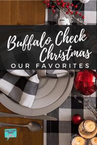 Buffalo Check Christmas