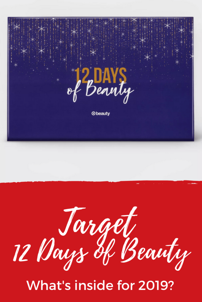 Target 12 Days of Beauty Advent Calendar - Take a look at what's inside of the 2019 Target 12 Days of Beauty Advent calendar and see each of the products you'll receive along with a look at past beauty calendars.