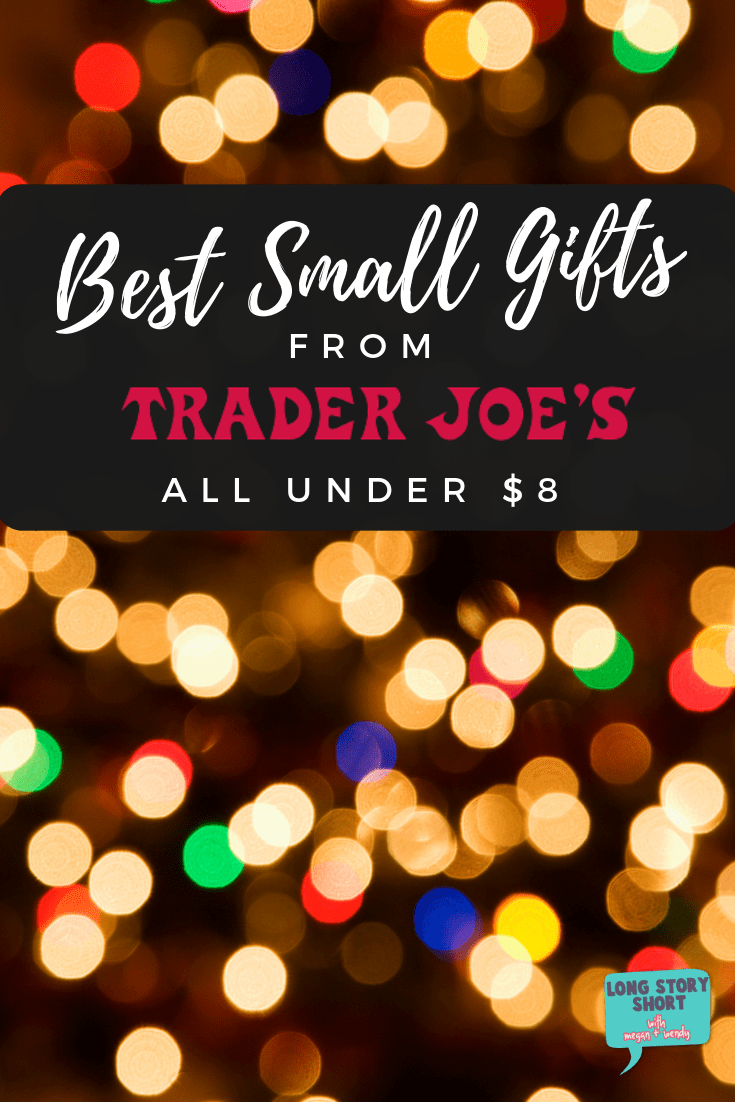 Find yourself short a few inexpensive gifts? We're sharing the best small gifts from Trader Joe's that anyone would be happy to receive this holiday season! #TraderJoes