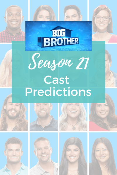 Big Brother 21 Cast Predictions