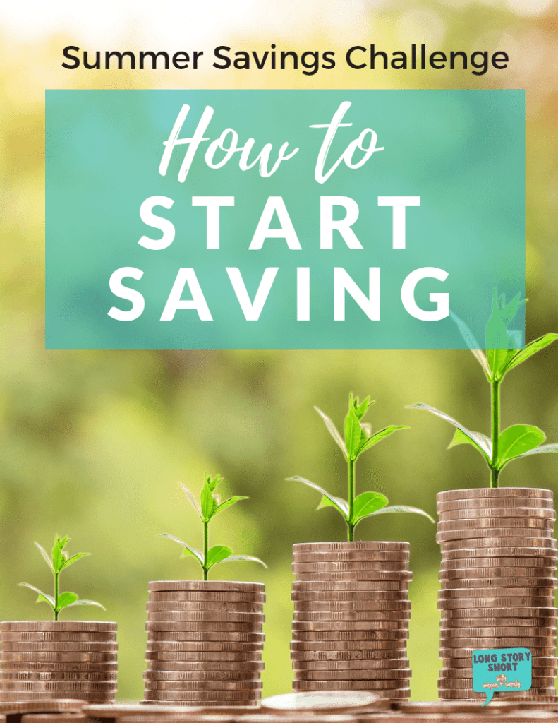 Summer Savings Challenge - How to start saving. We'll talk about where to trim your budget, how much money you should be saving, how to manage your savings accounts, and how to stay on budget!