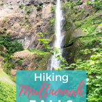 Hiking Multnomah Falls