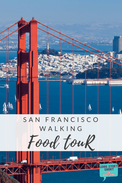 Planning a trip to San Francisco? Take a walking food tour! It's an amazing chance to get some great eats and see neighborhoods you wouldn't otherwise! | #Travel #SanFrancisco