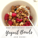 Breakfast Ideas to Get the Day Started