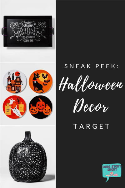 Halloween Decor at Target