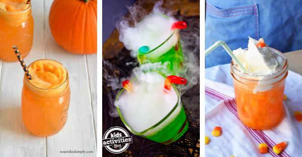 Festive Halloween Drinks for Kids