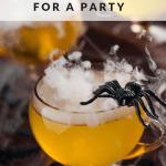 Festive Halloween Drinks