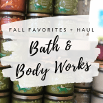 Fall Scents Bath & Body Works Haul