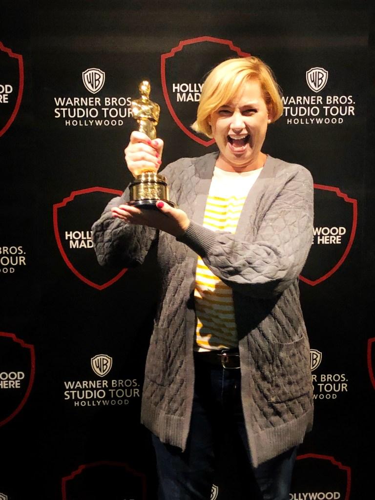 Warner Bros Studio Tour - Oscar