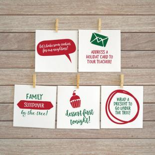 DIY Printable Advent Calendar Ideas