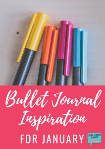 Looking for January bullet journal inspiration? We've pulled together some of our favorite January-specific bullet journal covers and pages for you! #BUJO #planner #bulletjournal #journaling