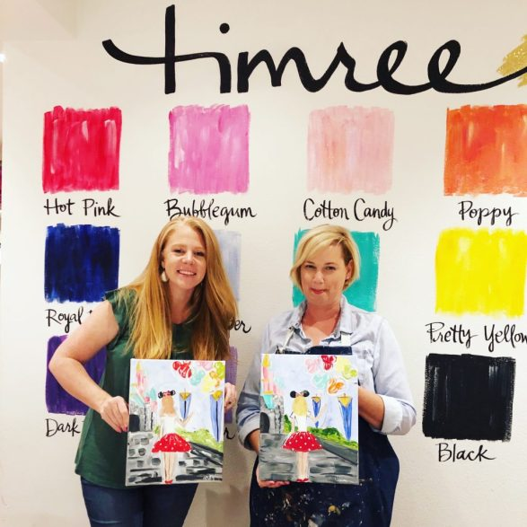 Timree Gold is a local artist and paint teacher who now streams paint classes for a very low monthly membership! Paint the cutest paintings with Timree's method at home!