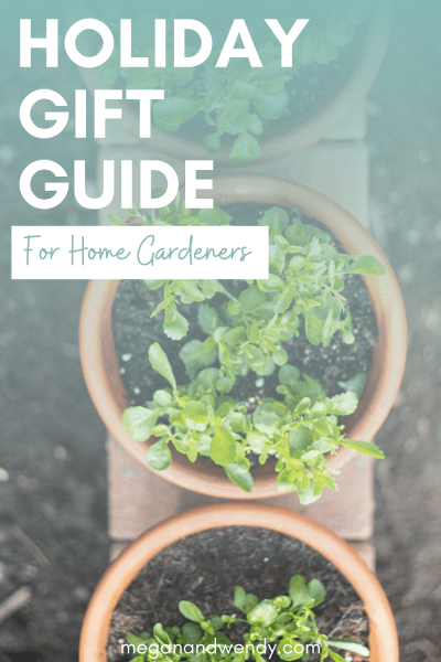 Don't scroll past this awesome gift guide full of great gift ideas for the home gardener on your holiday gift list! Everything from practical gardening tools, to cute, fun gifts every gardener will love and appreciate.