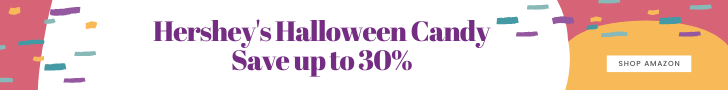 Save up to 30% on Hershey's Halloween Candy