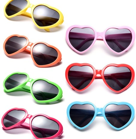 The future is bright his year! Love these heart shaped sunglasses in kid sizes. Comes in a variety of colors and a perfect non-candy gift.
