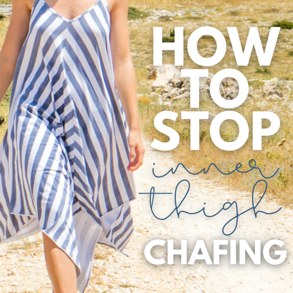 Do you inner thighs cause painful chafing? Here's our tried and true, go-to products to help prevent and reduce the amount of chafing you're experiencing.