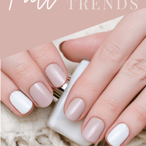Looking for some fall nail trends to take you into cooler weather? These are our favorite nail trends, including everything from nail polish colors, dip powder nails, gel nail art, nail stickers, nail wraps, press on nails and more!