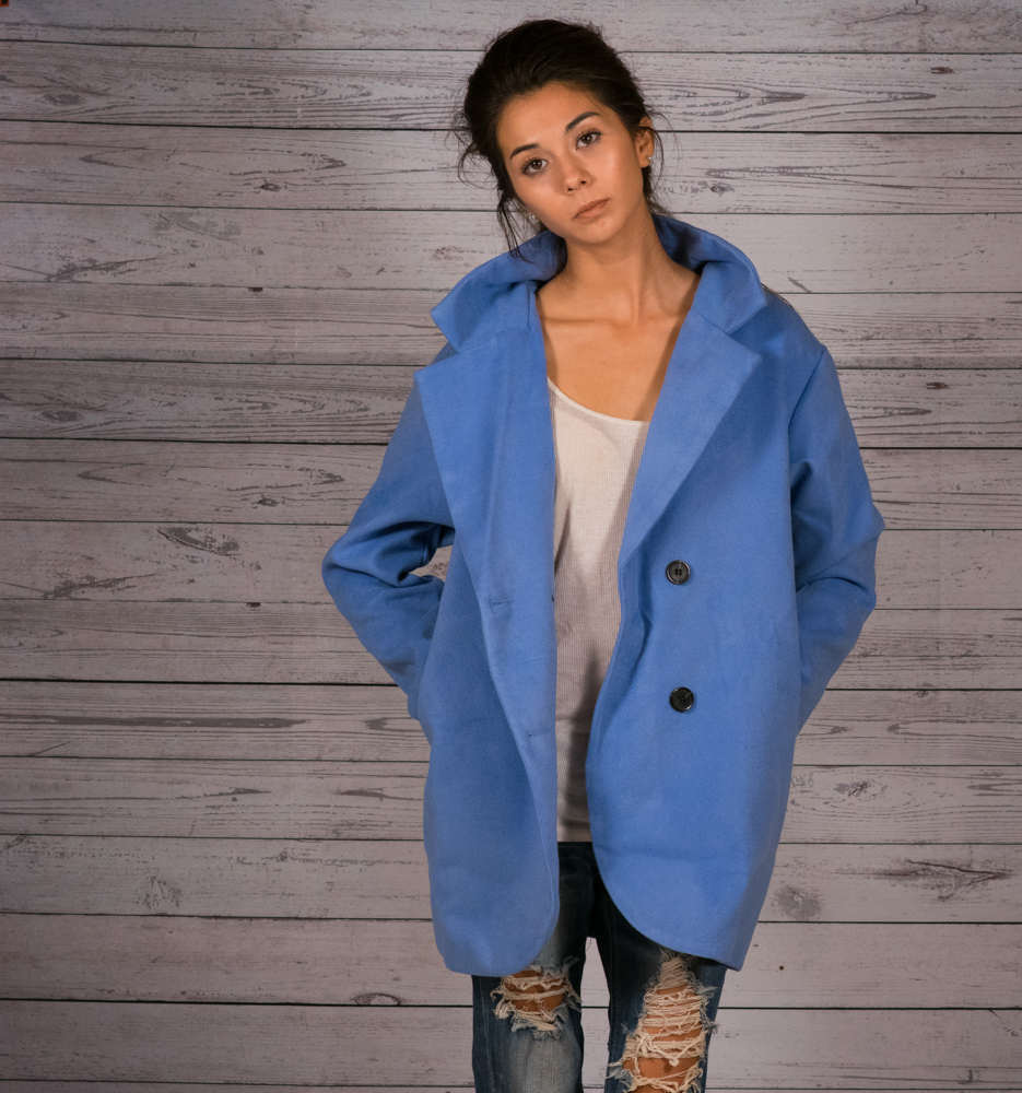 official price matching in colour quality and quantity assured periwinkle peacoat rustic wood background shot by Meg and ...