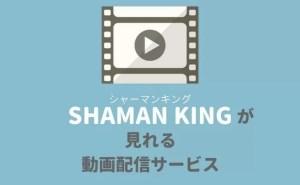 『シャーマンキング』のアニメ・映画が見れるサービス(動画配信・宅配レンタル)
