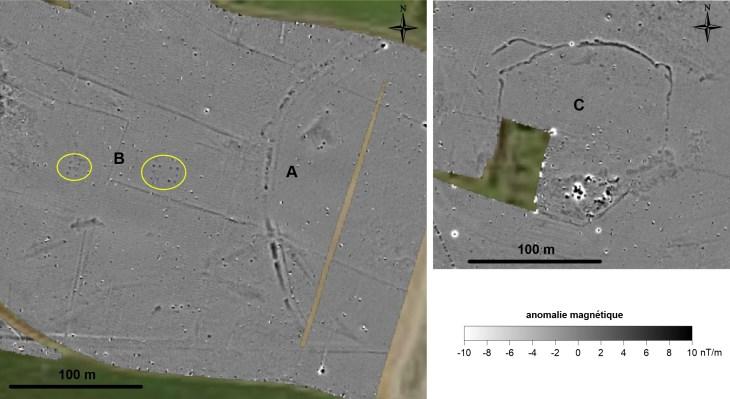 propection géophysique site de Charmé