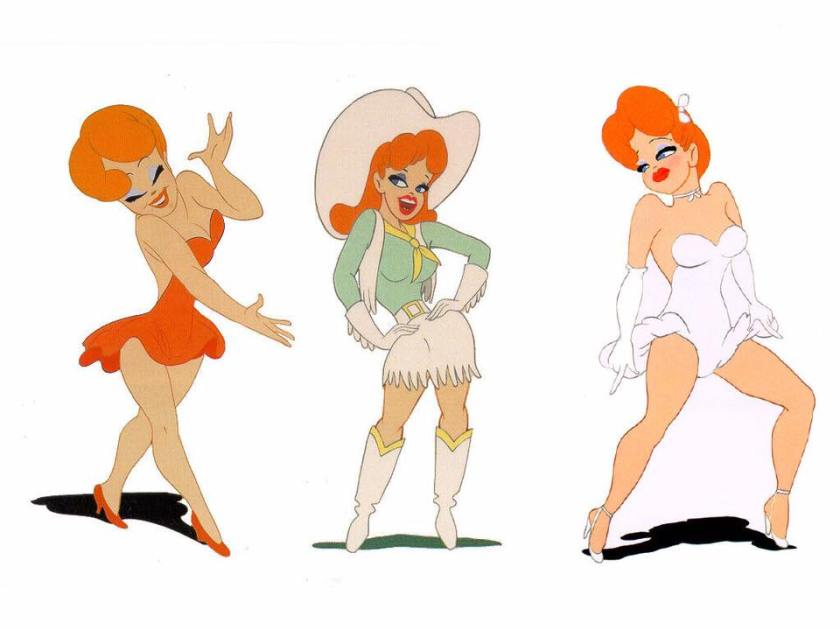 La maliziosa Red, di Tex Avery
