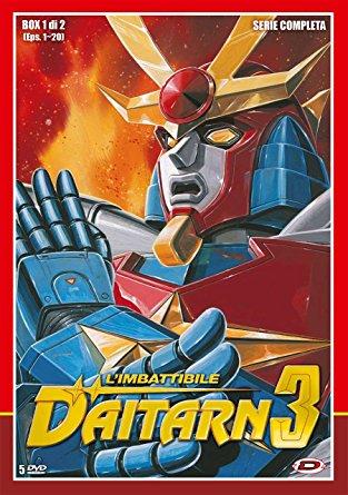 daitarn 3 cover