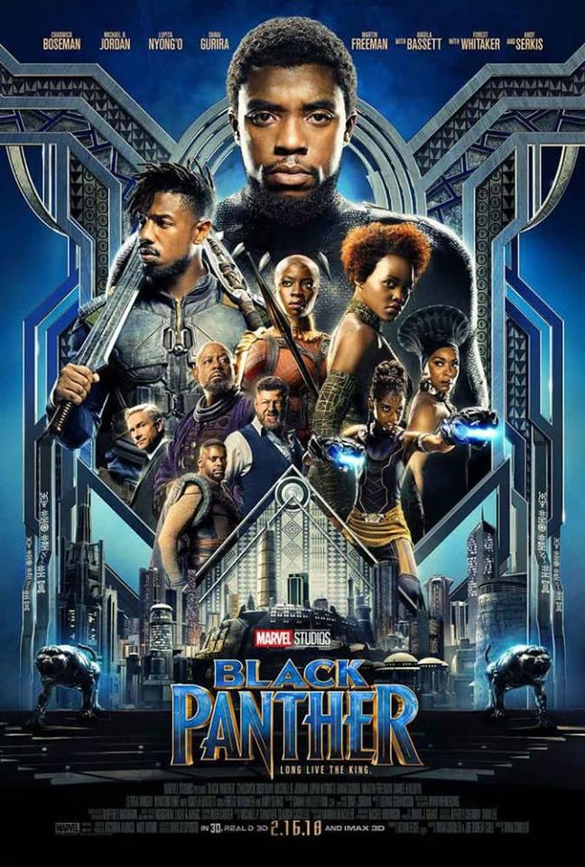 pantera nera poster
