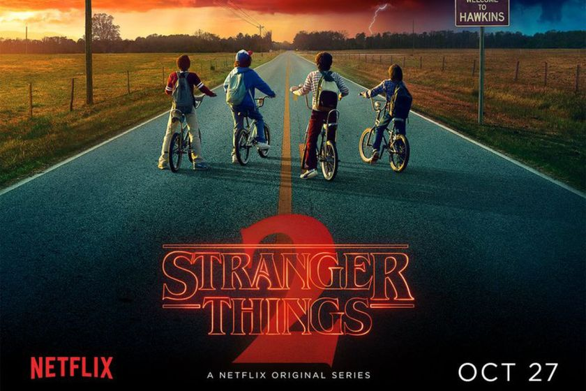 stranger things locandina