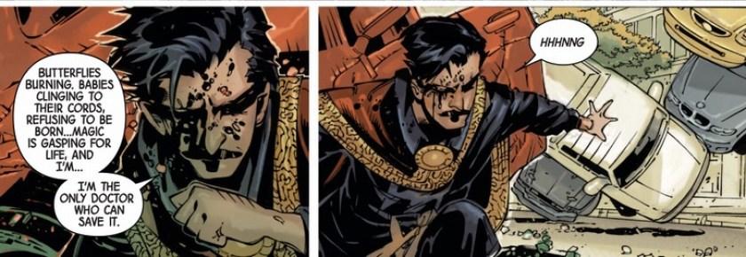 Il Doctor Strange di Jason Aaron, tra scienza e magia