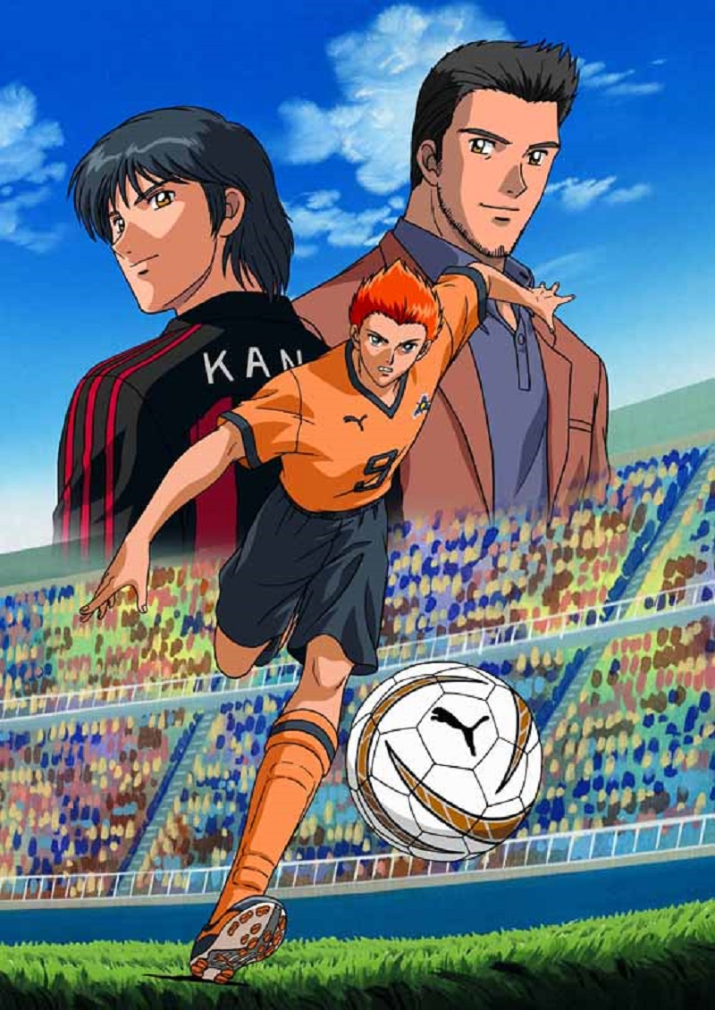 Tutti i cartoni animati sul calcio meganerd