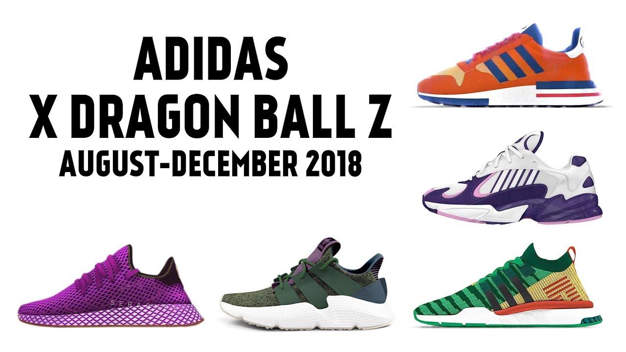 Dragon Ball Z – Adidas: tutta la nuova collezione di scarpe