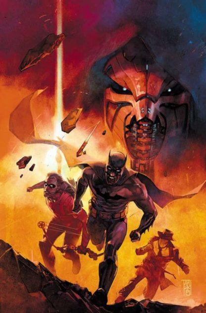 La copertina regular di Event Leviathan #1, disegnata da Alex Maalev