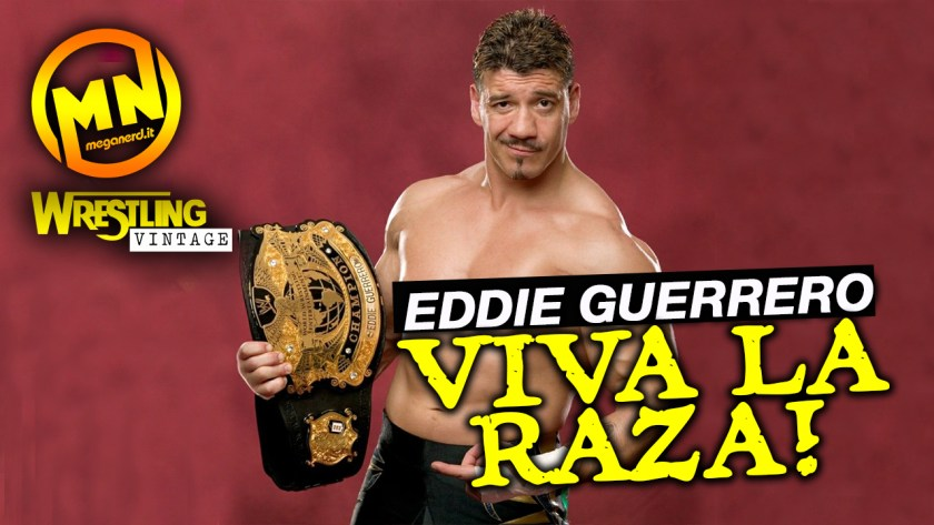 copertina wrestling vintage eddie guerrero