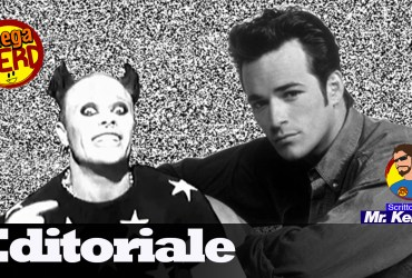 editoriale Luke Perry e Keith Flinth anni 90