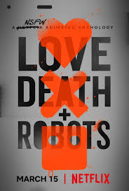love death + robots poster