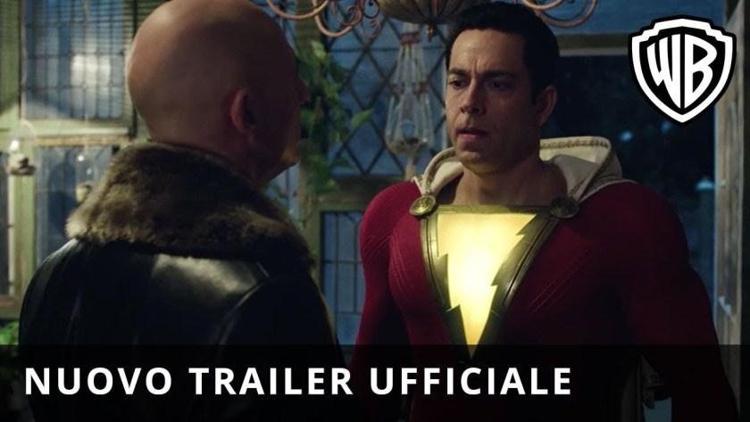 shazam nuovo trailer italiano