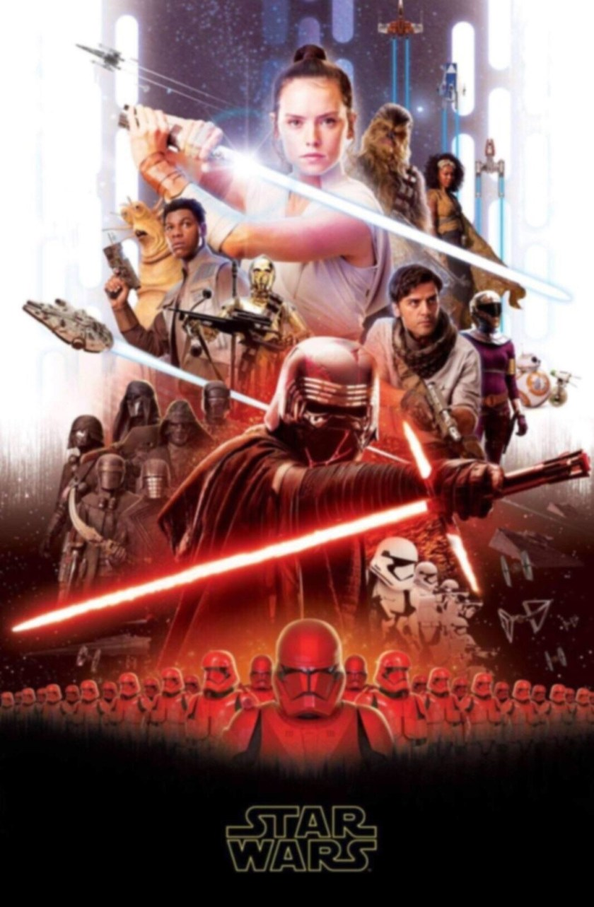 star wars IX poster leaked