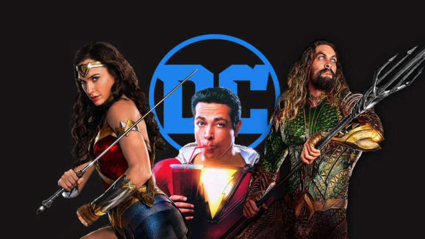 DC Films wonder woman shazam aquaman