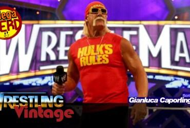 wrestling vintage hulk hogan wrestlemania