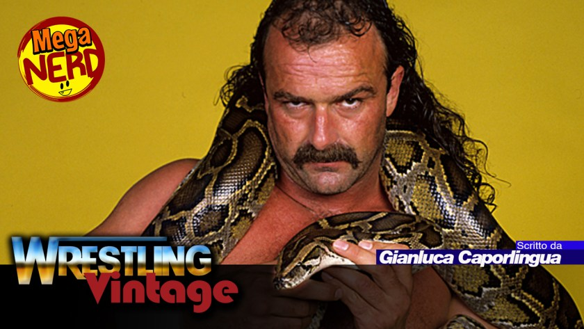 wrestling vintage jake the snake