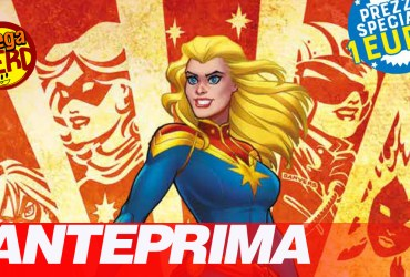 anteprima captain marvel panini comics