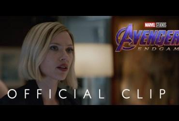 avengers endgame new clip
