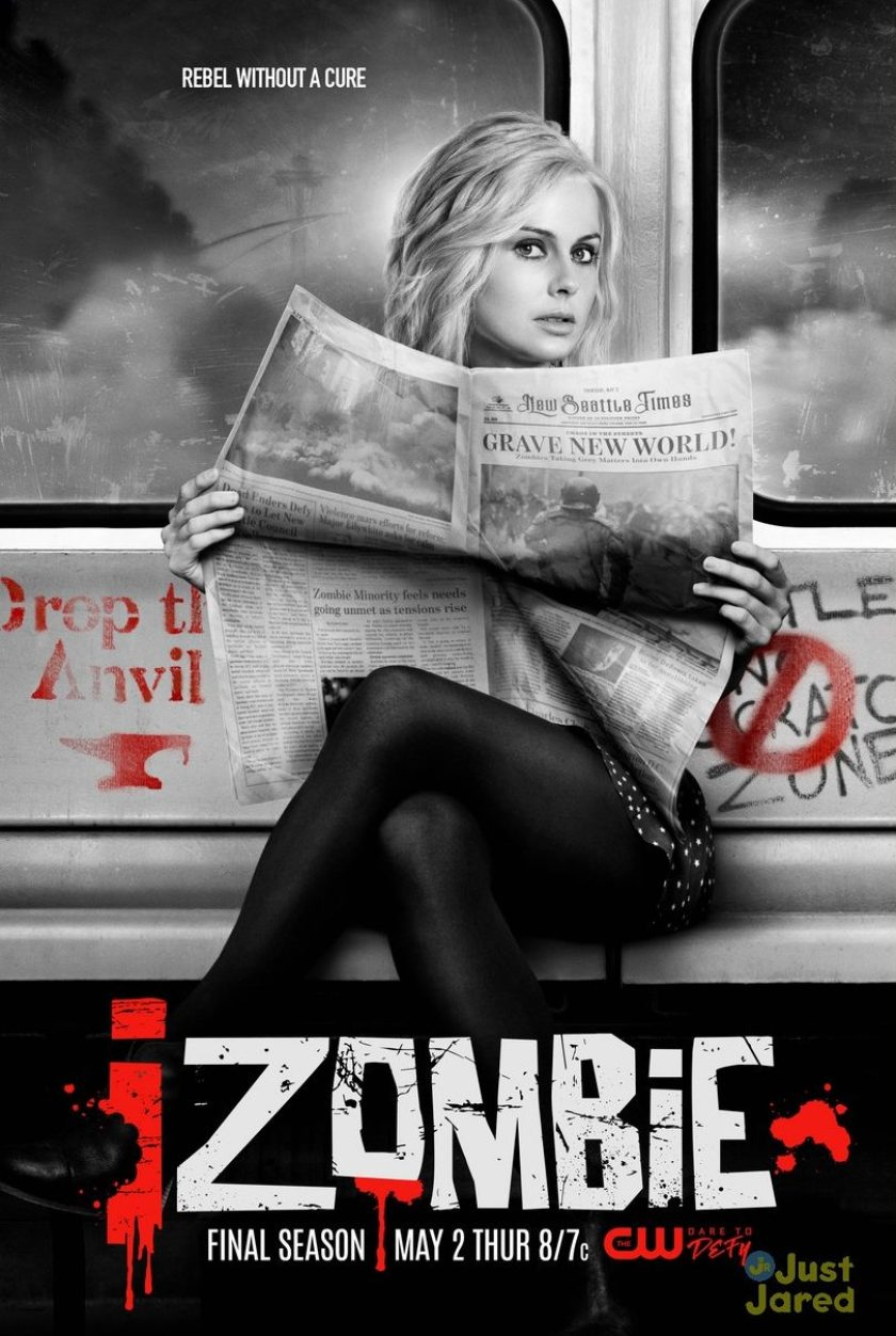 iZombie – Promo e poster ufficiale dell'ultima stagione